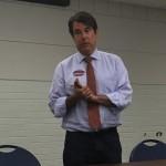 City Council Chair Luke Garrott